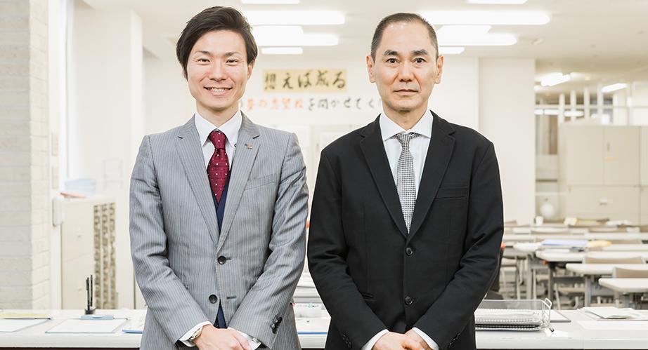 浅野 校長・櫻井 講師