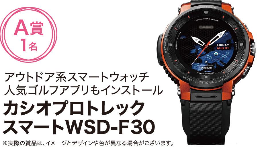 カシオプロトレックスマートWSD-F30 A賞1名